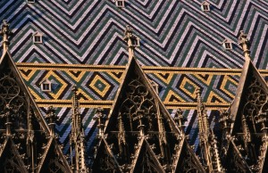 Stephansdom Cathedral roof